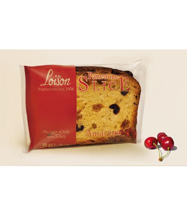 Loison Panettone Slice Amarena