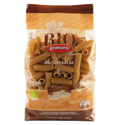 Granoro Bio Elicoidali Whole Wheat
