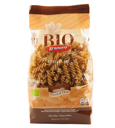 Granoro Bio Fusilli Whole Wheat