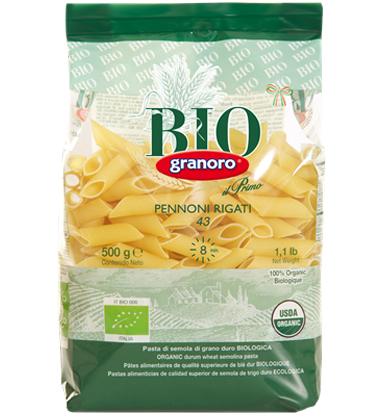 Granoro Bio Pennoni Rigate
